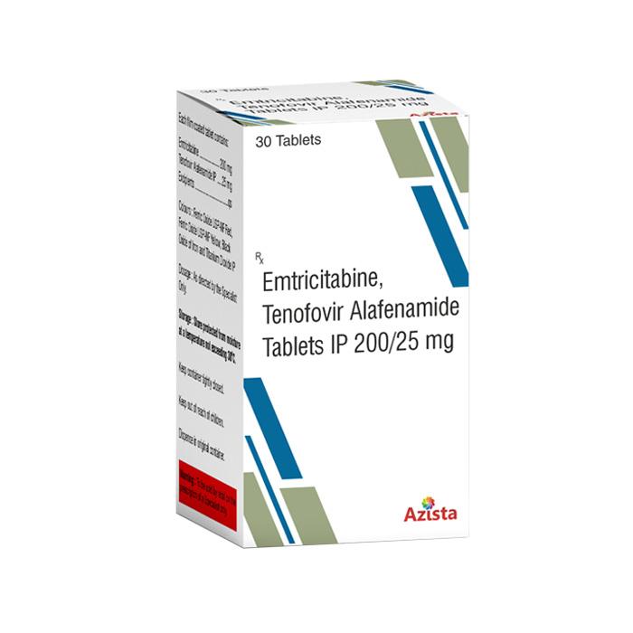 Emtricitabine 200mg and Tenofovir Alafenamide 25mg Tablets Exporters
