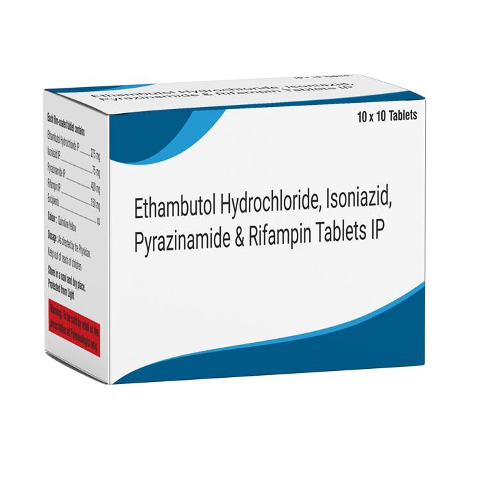 Ethambutol 275, Isoniazid 75, Pyrazinamide 400, Rifampin 150 Exporters