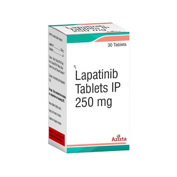 Lapatinib 250mg 30 Tablets Exporters