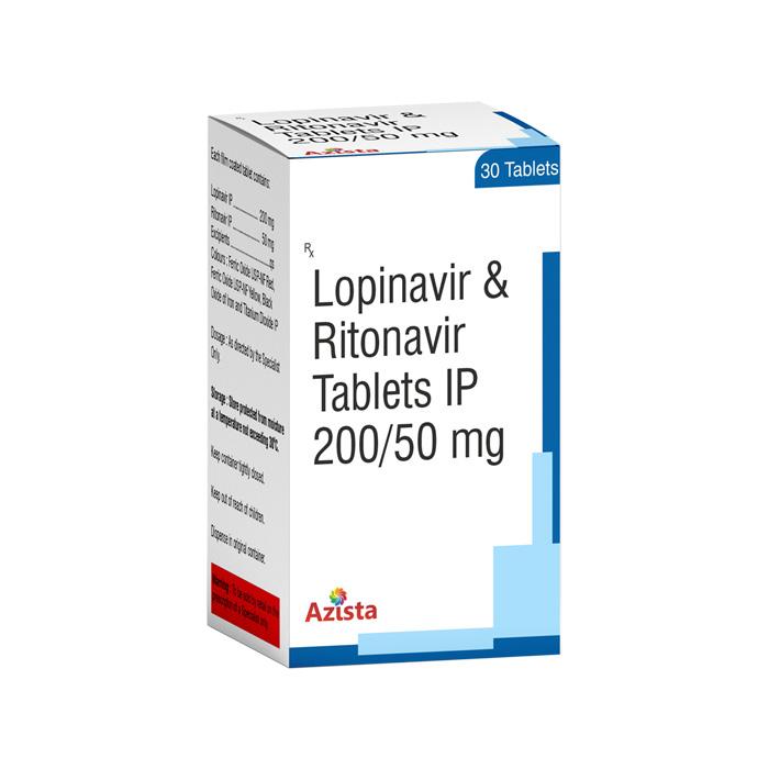 Lopinavir 200mg, Ritonavir 50mg Tablets Exporters