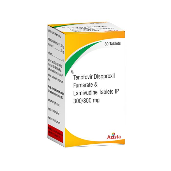 Tenofovir Disoproxil Fumarate 300mg, Lamivudine 300mg Tablets Exporters