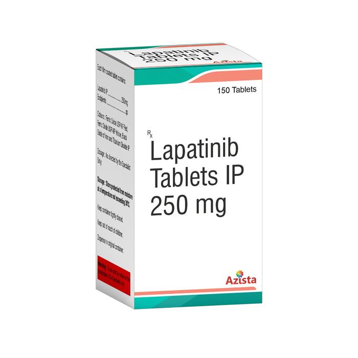 Lapatinib 250mg 150 Tablets Exporters