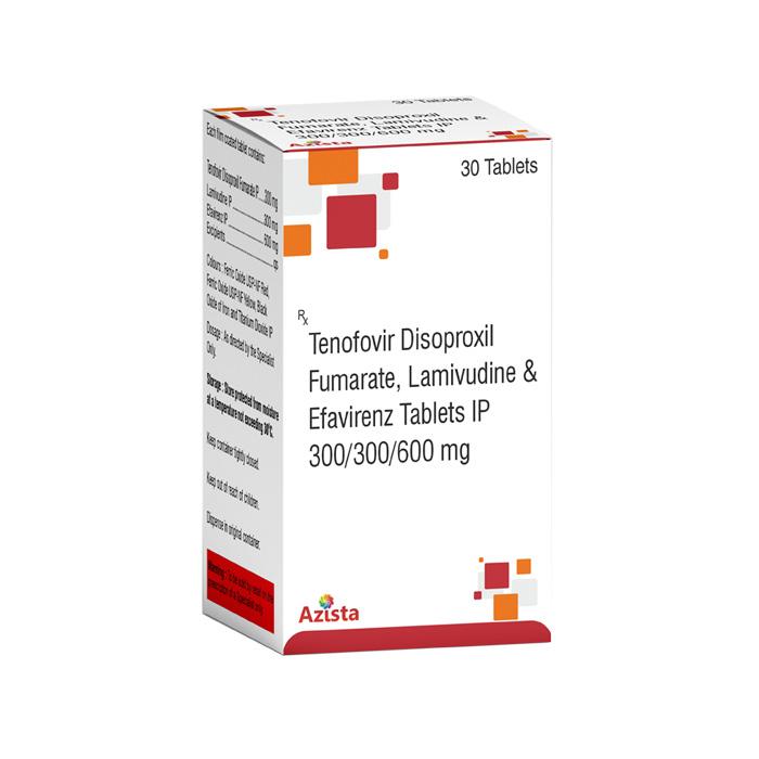Tenofovir Disoproxil Fumarate 300mg, Lamivudine 300mg, Efavirenz 600mg Tablets Exporters